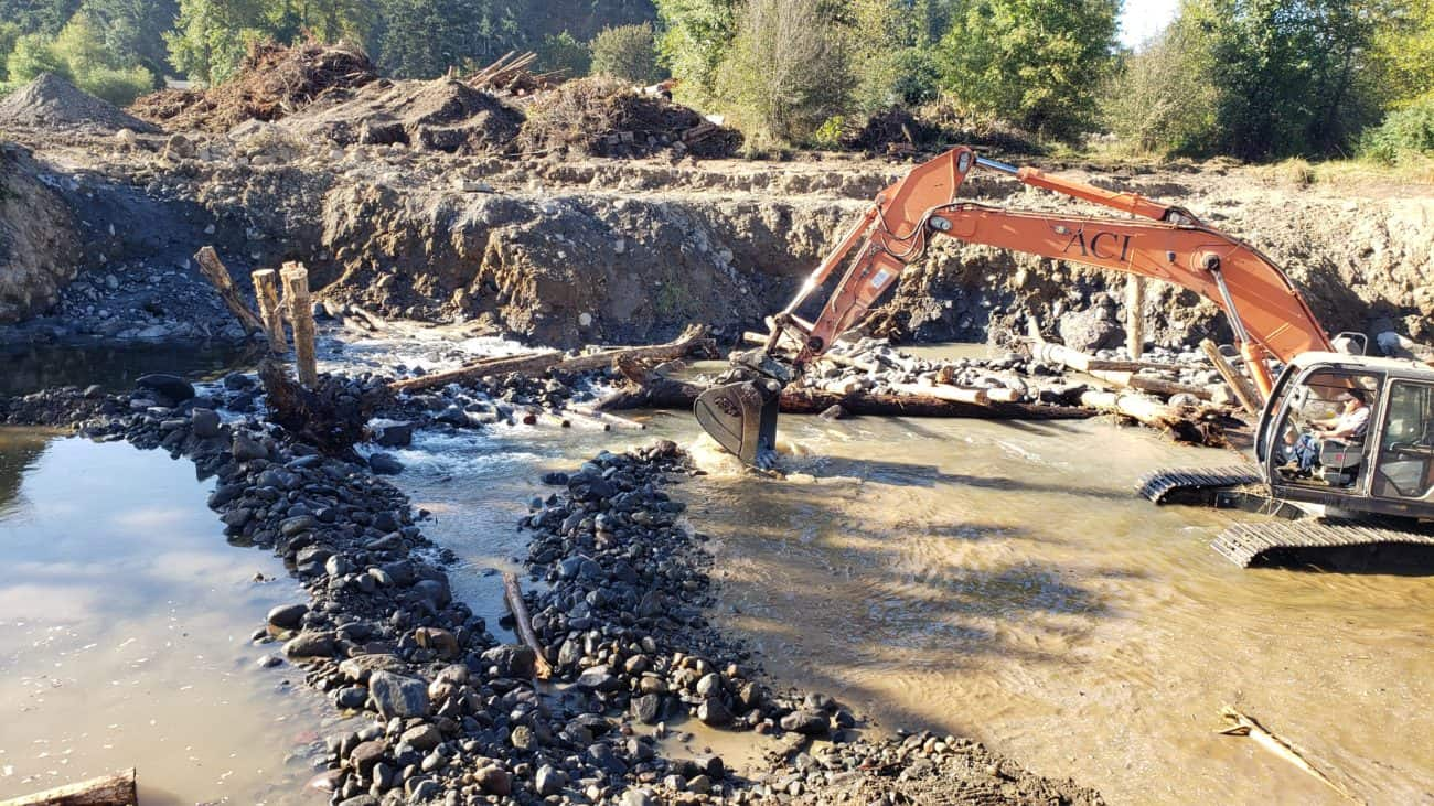 South Prairie Creek Floodplain Restoration